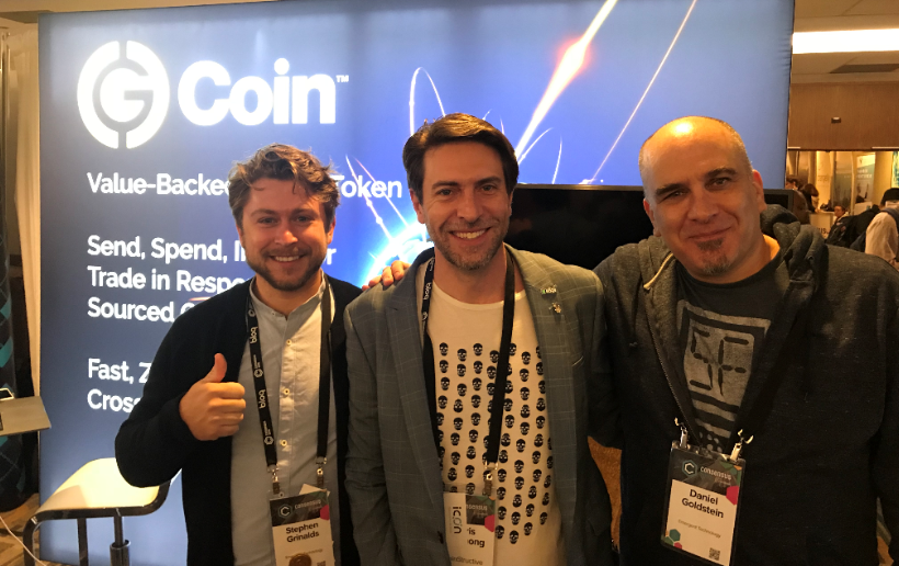 Chris Groshong, CEO of CoinStructive with G Coin