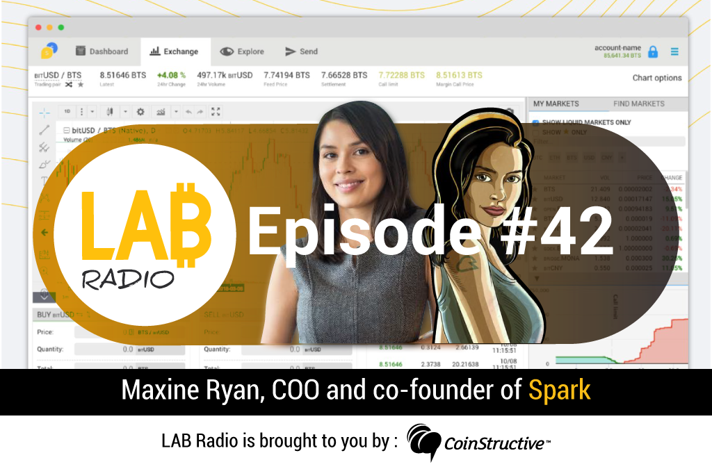 LAB Radio Episode 42 – Spark, a Cryptocurrency payments platform and DEX powered by Graphene