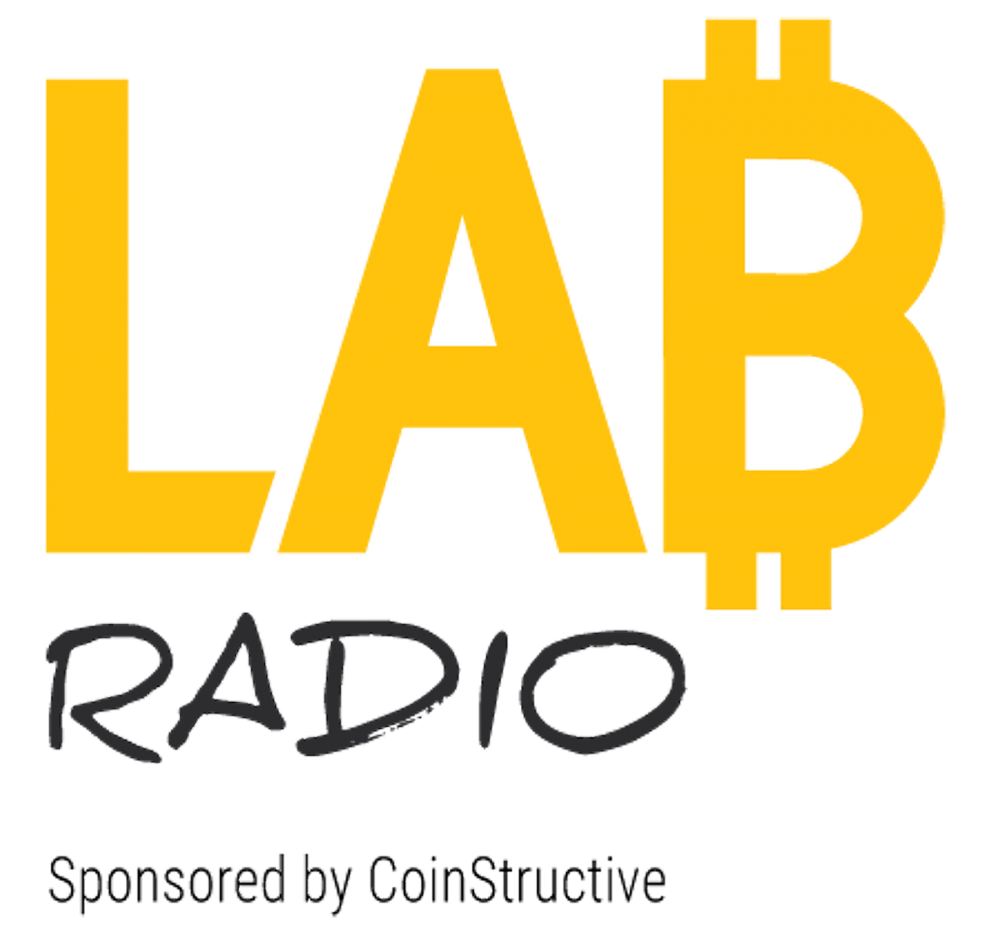 LAB Radio by CoinStructive Logo