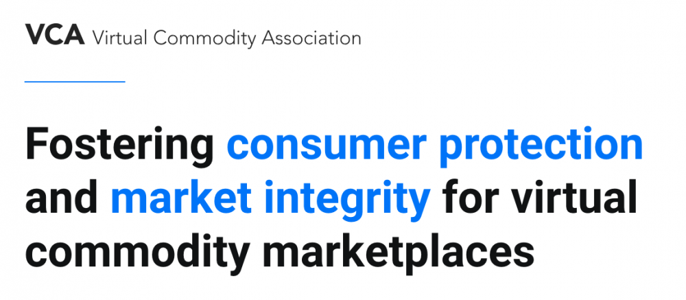 Virtual Commodities Association