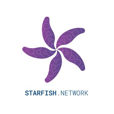 starfish network logo white