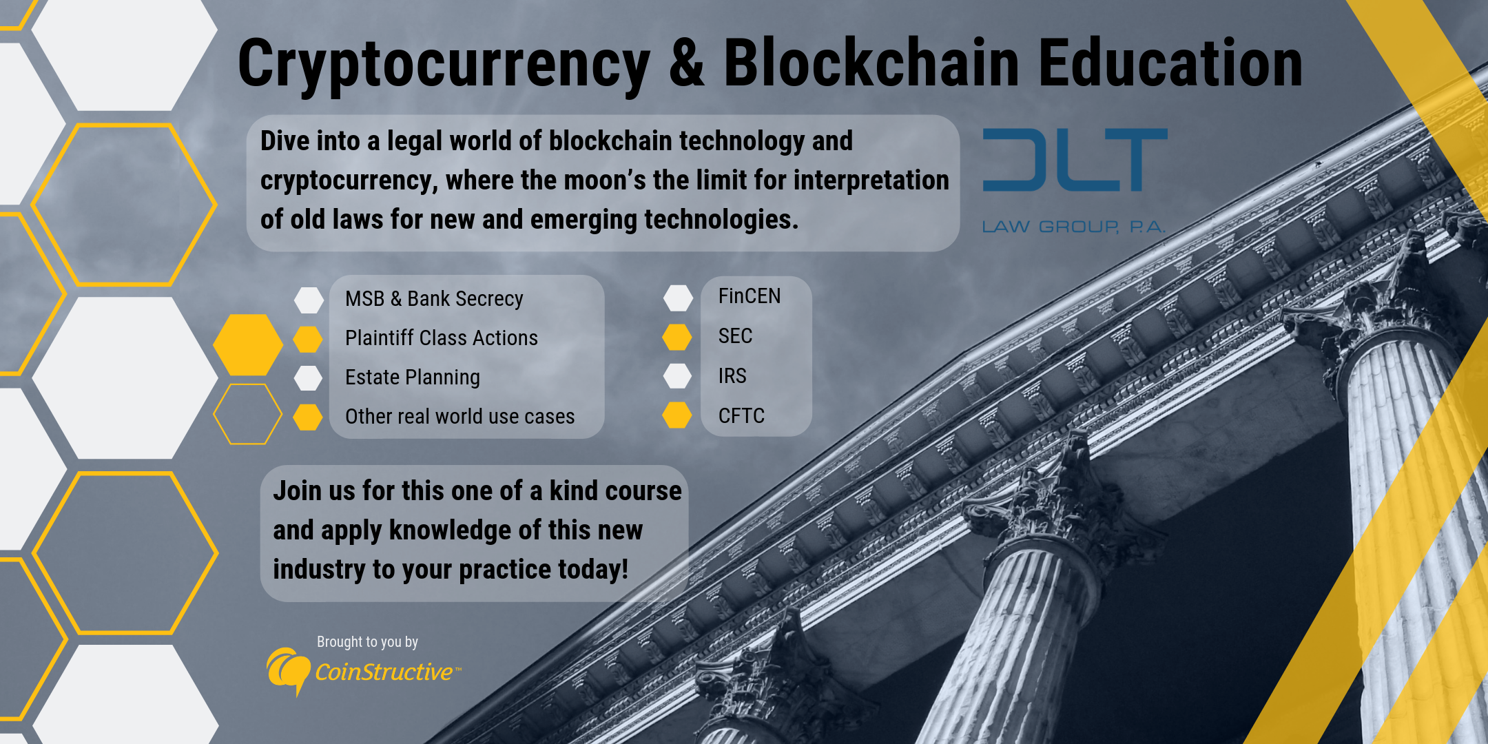 Legal Blockchain and Cryptocurrency Continuing Education