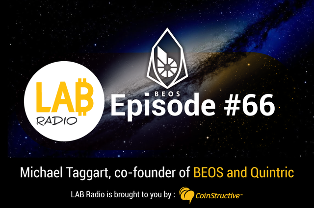 LAB Radio Ep 66 – BitShares, BEOS and Quintric, a family of Graphene based Blockchain Projects (Part 1)