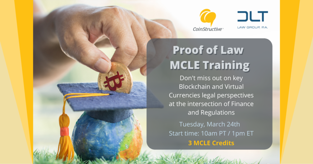 MCLE Crypto March 2020