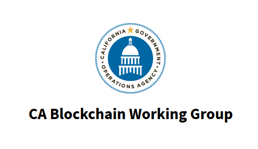 California Blockchain Working Group – April update